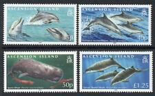 ASCENSION 2009 MNH SG1029-32 Whales and Dolphins