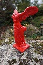 30157 R  FIGURINE  STATUETTE REPRODUCTION   SAMOTHRACE   DESIGN  ROUGE FIN