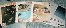 3 1990 American Olean Tile Company Brochures + One 1990 Price Book