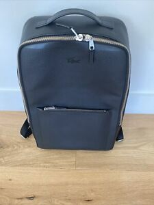 Lacoste Leather Backpack