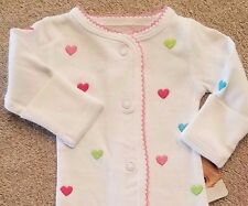 DARLING! NEW CARTER'S PREEMIE COLORFUL HEARTS OUTFIT REBORN