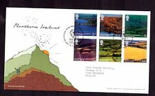 GREAT BRITAIN 2004 Northern Ireland set FDC used