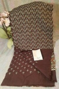 Russian Authentic  100% Wool Men's Scarf NWT