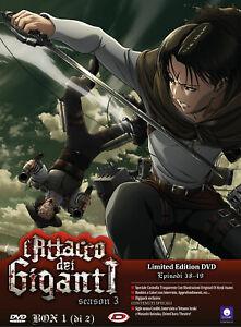 L'Attack On Titan - Season 03 Boîte Vol. 1 (Eps 1-12) (Limited Editionition)
