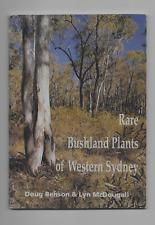 native plants, Australian bush, Rare Bushland Plants of Western Sydney