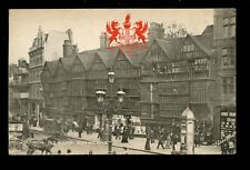 LONDON Heraldic View High Holborn Old Houses #2174 PPC