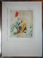 Erik Levesque litho encadrée Signée N°/60 Benezit Musées Artprice Abstrait