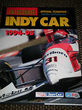 Autocourse indy car 1994 1995 nigel mansell paul newman hass indianapolis 500