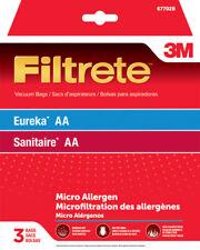 3M  Filtrete  Vacuum Bag  For Eureka/ Sanitaire AA/MicroAllergen 3 pk