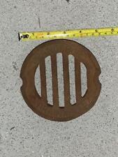 """Cast Iron 5"""" Round Floor Drain Cover Grate Orangeburg Drainmate"""