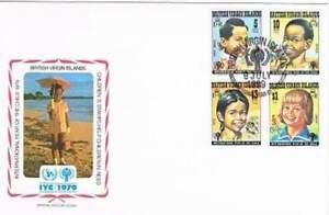 Envelop Jaar van het Kind 1979 - Britisch Virgin Islands (147)