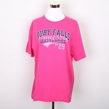 Ruby Falls Chattanooga Tennessee T Shirt Women's L Pink
