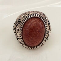 Vintage jewelry 316L Stainless Steel Vogue Design Mini Stone Ring Size 8 9 10 11