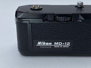 [Near MINT] Nikon MD-12 Motor Drive For FM FM2 FE FE2 FA FM3A (tested)