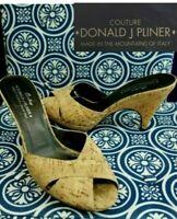 Details about  /Donald Pliner Couture Python Leather Shoe Pump NIB Peep-Toe Platform 6 10 $400