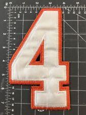 # 4 Number Four #4 Utah Blaze Logo Patch Jersey Uniform Arena Football League