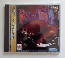 THE HOUSE OF THE DEAD Sega Saturn Video Game Japan Japanese