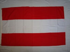 AUSTRIA Country Cloth Print Flag New Unused