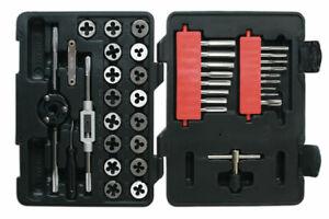 Laser Tools 7669 | Metric Tap & Die Set 39pc