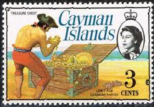 British Cayman Islands Carribian Pirates Teasures stamp 1969 MNH