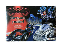 BATMAN AND ROBIN ELECTRIC TRACK by POLISTIL made In ITALY New Box Open Rare