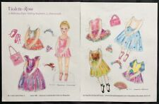 Violet-Rose, A Ballerina Paper Doll by Stephanie Hammonds, Mag. PD. 2010