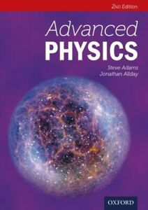 ADVANCED PHYSICS FRAI ADAMS STEVE OXFORD UNIVERSITY PRESS PAPERBACK  SOFTBACK