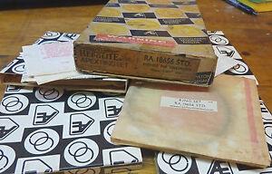 Hepolite RA18656 STD Piston Rings VOLKSWAGEN 1500A AIRCOOLED 1965-1967