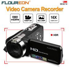 1080P HD Portable Vidéo Caméra Numérique 2.7 TFT LCD 24MP 16x Zoom DV Caméscope