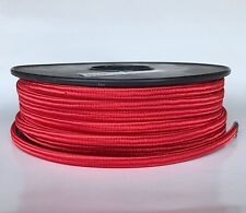 100 ft. Spool of Red Parallel Rayon Covered Wire SPT-1