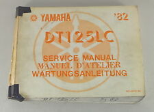 Workshop Manual/Workshop Manual Yamaha Dt 125 LC Von 1982