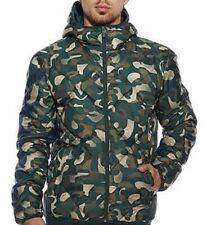 Puma Men's Padded Hooded Bamcoaltex Thermal Insulation Jacket Green - 830124-26