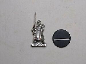 40K Imperial Guard- 1x Cadian Commander. Metal. OOP