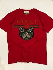 Gucci T-Shirt  -Rot - S