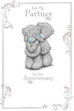 For My Partner On Our Anniversary Card ~ Cute Me To You Tatty Teddy Design