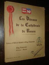 LES VITRAUX DE LA CATHEDRALE DE ROUEN - A. Rudolf E. Levasseur - Normandie