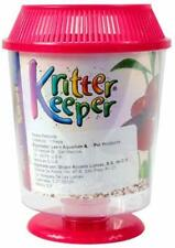 (4 Pack) Lee's Round Kritter Keeper Small with Vented Lid | Assorted Colors