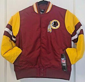 TEAM NFL Football Youth Boys Washington Redskins Legendary Varsity Jacket SIZE 8