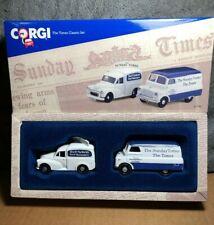 Corgi | 97740 | The Times Classic Set | Morris 1000 Van & Bedford CA Van