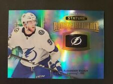 2019/20 UD Stature - alexander volov  - Rookie Reliance BLUE /20