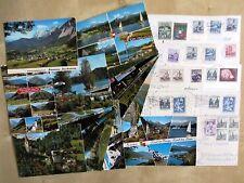 Lot Sammlung ÖSTERREICH Postkarten Ansichtskarten Lot 34 Stück >1960 gelaufen