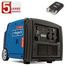 Scheppach Inverter Stromerzeuger SG3400i 3400 W 4-Takt Benzinmotor Fernsteuerung