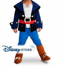 NUOVO Costume Di Halloween Disney Store CAPITANO Jake e la Neverland Pirati 2, 3
