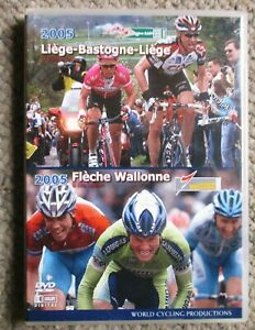 2005 Liege-Bastogne-Liege Fleche-Wallone World Cycling Productions 2 DVD clean
