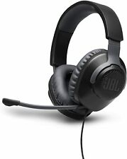 JBL Quantum 100 - Headset - full size Silver Color