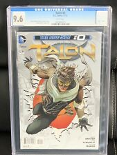 TALON # 0 / The new 52! / CGC Universal 9.6 / November 2012, New Slab NM+ Beauty