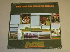 Various Artists Folklore del Norte de Espana Puzzle Records # MPL-143 Sealed LP
