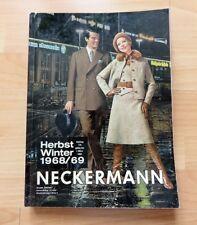 Neckermann Katalog 1968 1969, Mode Möbel Technik 60er Jahre 660 Seiten wie neu