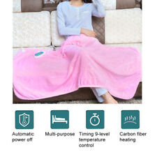 Adjust Electric Heated Blanket Winter Warm Cover Heater W/Controller 59.1x31.5In