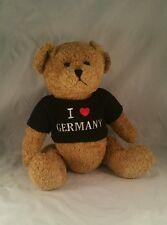 Dressler & Zimmerhackl I Love Germany Teddy Bear 15 Inches